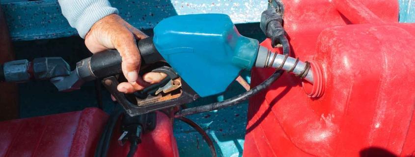 Denuncia dei serbatoi gasolio